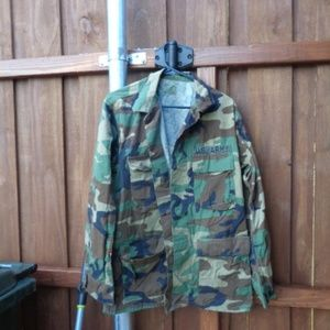 US Army 49th Armored Division camo army jacket